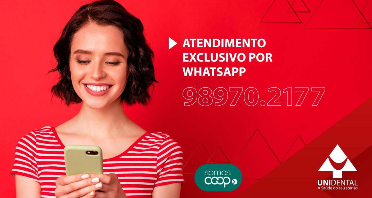 Atendimento exclusivo por Whatsapp 98970.2177